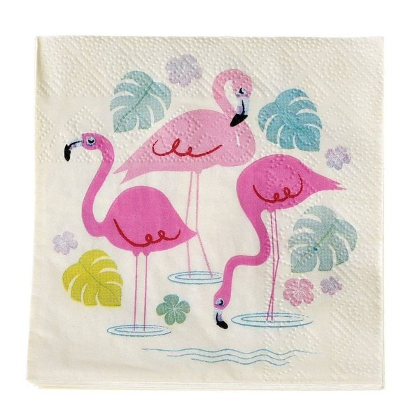 "Papierserviette ""Flamingo"""