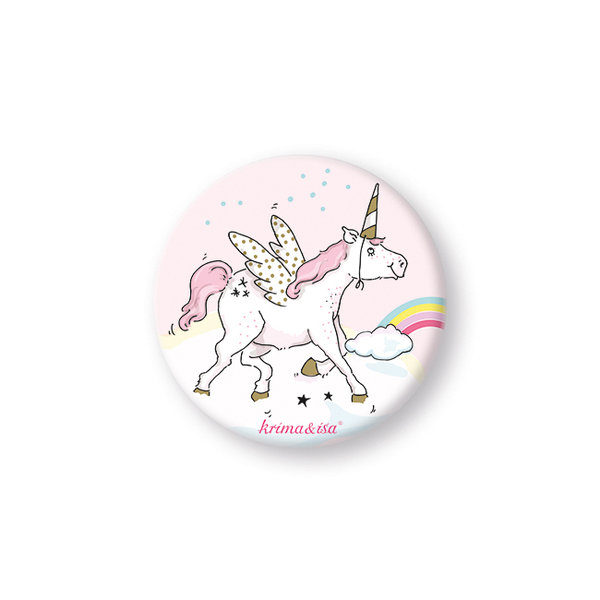 "Button ""Einhorn"""