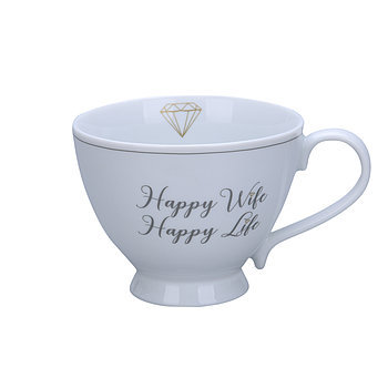 "Happy Chic Cup ""Happy Wife"""