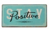"Magnet ""Stay positive"""