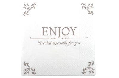 "Serviette ""Enjoy"""