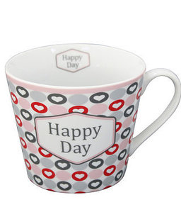 "Happy Cup ""Happy Day pink"""
